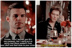 #TO The Originals season 3 Elijah & Klaus xD