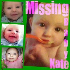 "Katherine ""Baby Kate"" Phillips has been missing from Ludington Michigan since 6/29/11."