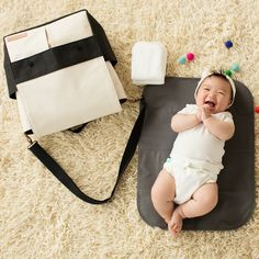 Pathway Pack Diaper Bag — Versatile, clean and stylish — the perfect diaper bag for mom or dad Black Diaper Bag, Diaper Bag Backpack, Diaper Bags, Petunia Pickle Bottom, Minimalist Bag, Wipes Case, Newborn Essentials, Cute Handbags, Project Nursery