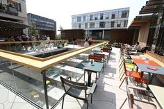 New terrace at #Vooruit in #Ghent
