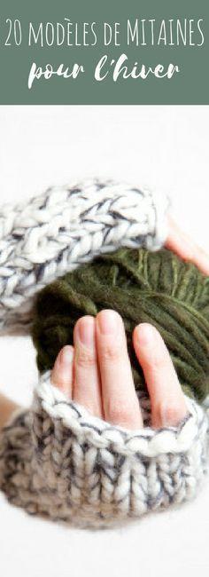 tricot : 20 modèles de mitaines gratuits à tricoter