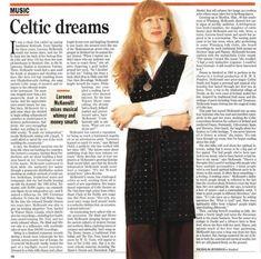 Loreena Mckennitt, Celtic, Sequin Skirt, Sequins, Skirts, Fashion, Moda, Fashion Styles, Skirt