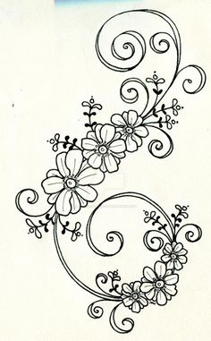 Floral Embroidery Patterns, Hand Embroidery Designs, Ribbon Embroidery, Flower Patterns, Embroidery Stitches, Machine Embroidery, Pattern Flower, Quilling Patterns, Satin Stitch