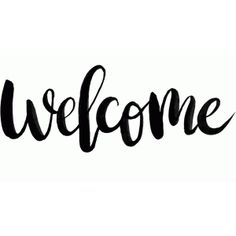 Silhouette Design Store - View Design #88032: welcome
