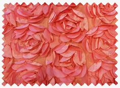 Coral Cabbage Rose