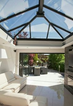 Image detail for -to flood into your new flat roof extension with a glass roof lantern .future all season sunroom perhaps?