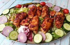 Tandoori Chicken, Bacon, Pork, Ethnic Recipes, Kale Stir Fry, Pork Chops, Pork Belly