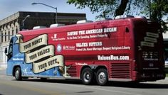 """Columbus Telegram covers Nebraska tour: """"The basis for a strong economy is a strong family"""""""