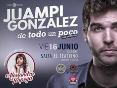 Vier 16/Jun - 23.30 hs  #Salta #QueHacemosSalta #PasaLaData #Prensa #Evento #ElTeatrino #Teatro Toda la info que necesitas la podes encontrar aquí  http://quehacemossalta.com/