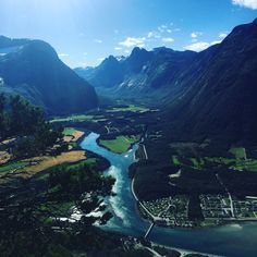 Åndalsnes Romsdalen Norway