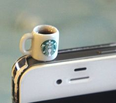 Starbucks Coffee Phone Plug – $20
