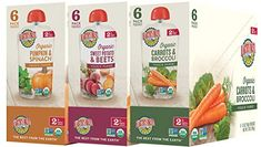 Earth's Best Organic Stage 2 Baby Food, Vegetable and Fruit Blends Variety Pack, oz. Baby Food Recipes, Gourmet Recipes, Wholesome Baby Food, Earth's Best, 2nd Baby, Homemade Baby, Beets, Count, Stage
