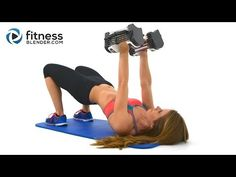 Tank Top Arms Workout - Best Upper Body Workout for Toned Arms, Shoulders & Upper Back - YouTube