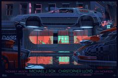Back to the Future, Part II by Laurent Durieux