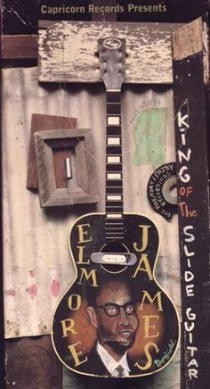 Elmore James, King of the Delta Blues (slide) Guitar Rhythm And Blues, Jazz Blues, Blues Music, Guitar Art, Cool Guitar, Sound Of Music, My Music, Elmore James, Slide Guitar