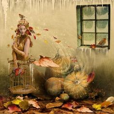 """""""First frost"""" - Photomanipulation Artworks by Kingabrit 