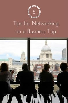 Networking on a business trip can lead to many great deals and opportunities. Here are some tips. Business Travel, Trips, Viajes, Travel