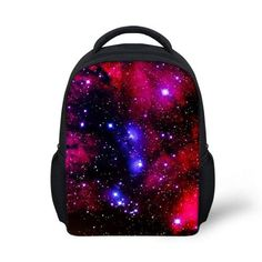 New Preppy Style Star Backpack Small Girls Galaxy Backpacks Children School Backpacks Child Baby Kindergarten Book Bag Bolsas