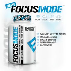 #FocusMode Coming Soon!  ✔️ Work ✔️ School ✔️ Gaming ✔️ Training  Who would want a sample? evlnutrition.com #EVL