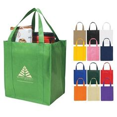 Even MORE fun colors for the non-woven grocery tote ! Also GREAT use for Markets, Retail Stores & Bookstores! What do you need your bag to say? $1.29/each Promotional Non-Woven Shopper Tote Bag | Customized Grocery Shopping Bags | Promotional Grocery Shopping Bags