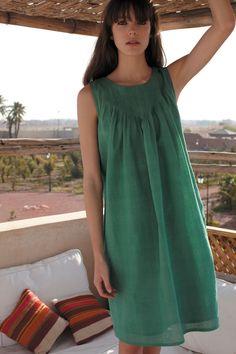 love this 'wasabi' colour...: Wasabi Dress ~ Plumo (http://www.plumo.com)