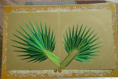 I have tried to recreate Palm leaves through String art. How far am I successful??!!