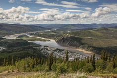 Dawson City Yukon Canada. Born in the 1898 Goldrush. To find out more about the programme visit: http://ift.tt/2foBnu4 Photographer: Dan Snow BBC STUDIOS 2016