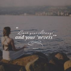 """""""Limit your Always, and your Nevers"""" ~ Amy Poehler Wisdom Quotes, True Quotes, Quotes Quotes, Feminist Quotes, Feminist Art, Motivational Words, Inspirational Quotes, Amy Poehler, Yoga Meditation"""