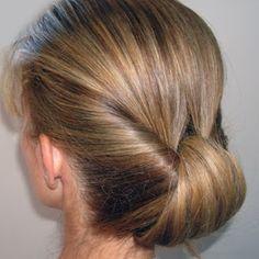 elegant bun, summer hairstyles