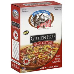 Hodgson Mill Pizza Crust, 16 oz (Pack of 6) - This was good the day it was made, light and crispy like the box says. The next day the pizza crust tasted more like a biscuit and it was thicker and crumbly.