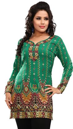 Indian Kurti Tunic Top