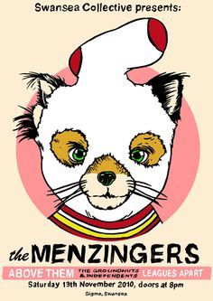 Menzingers, The - Above Them - Leagues Apart - Groundnuts And Independents, The Band Posters, Music Posters, Punk Art, Concert Posters, Punk Rock, Good Music, Lol, Flyers, Artist