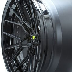 Satin Black and Gloss Black with custom cap by available Car Rims, Rims For Cars, Rims And Tires, Wheels And Tires, Supercars, Corvette Wheels, Bbs Wheels, Custom Caps, Forged Wheels