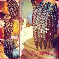 @ellanacar loves braids