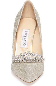 Jimmy Choo Pretty Shoes, Beautiful Shoes, Cute Shoes, Me Too Shoes, Dream Shoes, Crazy Shoes, Bridal Shoes, Wedding Shoes, Vestidos