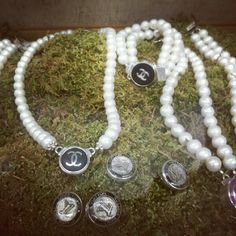Chanel Button Vintage Pieces. Available at Kendal Boutique! http://kendalboutique.com/