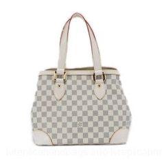 Louis Vuitton Damier Canvas Handbag LV M51207