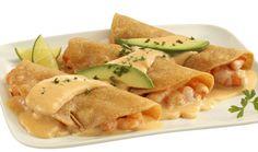 Quesadillas de camarón y chipotle #CuidarseEsDisfrutar