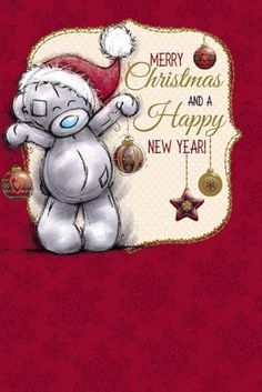 Teddy Bear Quotes, Teddy Bear Cartoon, Cute Teddy Bears, Christmas Scenes, Christmas Time, Christmas Crafts, Merry Christmas, Vintage Christmas Images, Christmas Pictures