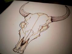Bull Skull Drawings | 18. Zodiac: Bull Skull Design by WingsDurus on deviantART