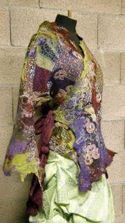 Войлок Текстильного Искусства: Интервью № 4 : Nathalie Banos / Feutreries...