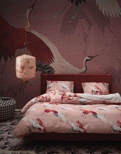Essenza Crane Dekbedovertrek 240 x 220 cm Bedroom Styles, Comforters, Blanket, Pillows, Furniture, Home Decor, Design, Accessories, Creature Comforts