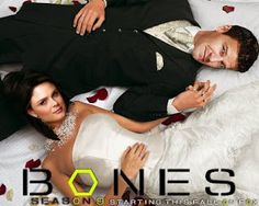 """TV Series Favorites: Bones Season 9 Episode I LOVE THIS There was a pre-episode Entertainment Series on TV, abt this ep, on ET show; on ABC/ABCHD for & the descriptive o on the show SEZ: HD , Katy Perry; a """"Bones"""" wedding. Bones Serie, Bones Tv Series, Bones Tv Show, Best Tv Shows, Favorite Tv Shows, Movies And Tv Shows, Bones Season 9, Season 8, Bones Booth And Brennan"""