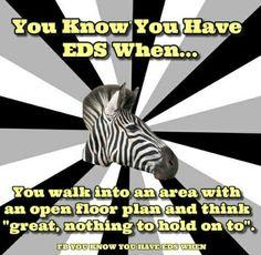 #EDS #EhlersDanlosSyndrome #ZebraStrong