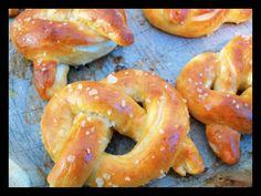 Homemade Fresh Pretzels Pretzels, Bagel, Shrimp, Bread, Homemade, Snacks, Projects, Food, Appetizers