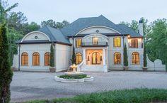 Mediterranean mansion in Acworth, Georgia