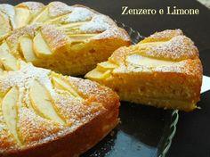 torta di mele - fetta