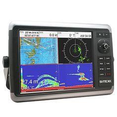 SITEX NAVSTAR 12CFR GPS CHART PLOTTER/SONAR/RADAR SYSTEM,