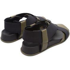 Camper Atonik Multicolor Sandales Femme K200802-003 Nylons, Camper, Kickers, Sandals, Silhouette, Beige, Shoes, Fashion, Strappy Sandals
