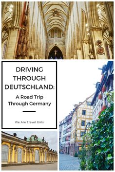DRIVING THROUGH DEUTSCHLAND: A ROAD TRIP THROUGH GERMANY: You've just landed in Germany. Your tired and jet-lagged after your over night flight, but honestly, sleep is for the weak. So let's go! It's time to start exploring Deutschland. By Kerry Harrison for http://WeAreTravelGirls.com